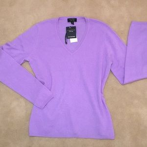 CHARTER CLUB 100% CASHMERE SWEATER